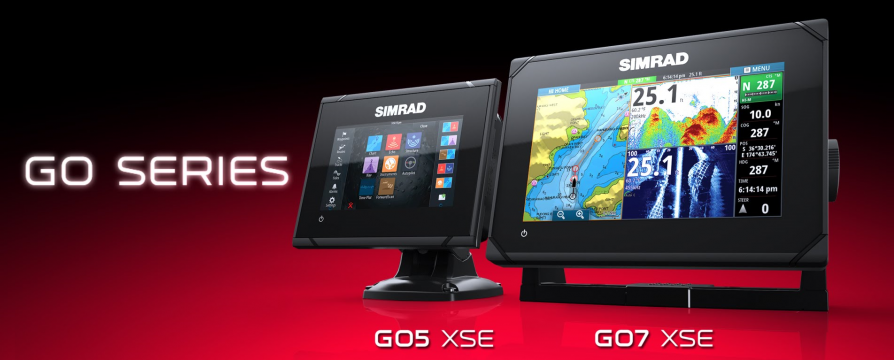 SIMRAD GO7 XSE Totalscan